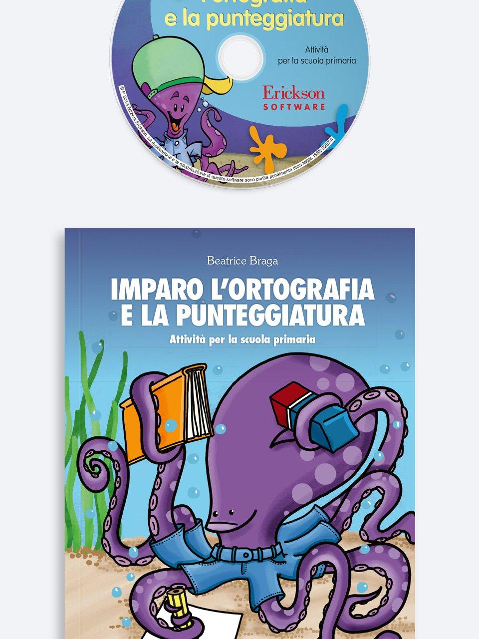 Imparo l'ortografia e la punteggiatura - Tablet delle regole di Italiano - Libri - Erickson 2