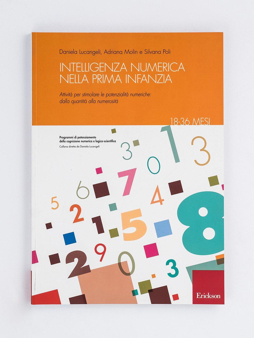 Intelligenza numerica nella prima infanzia - 18-36 mesi - Raccontare storie aiuta i bambini - Libri - Erickson