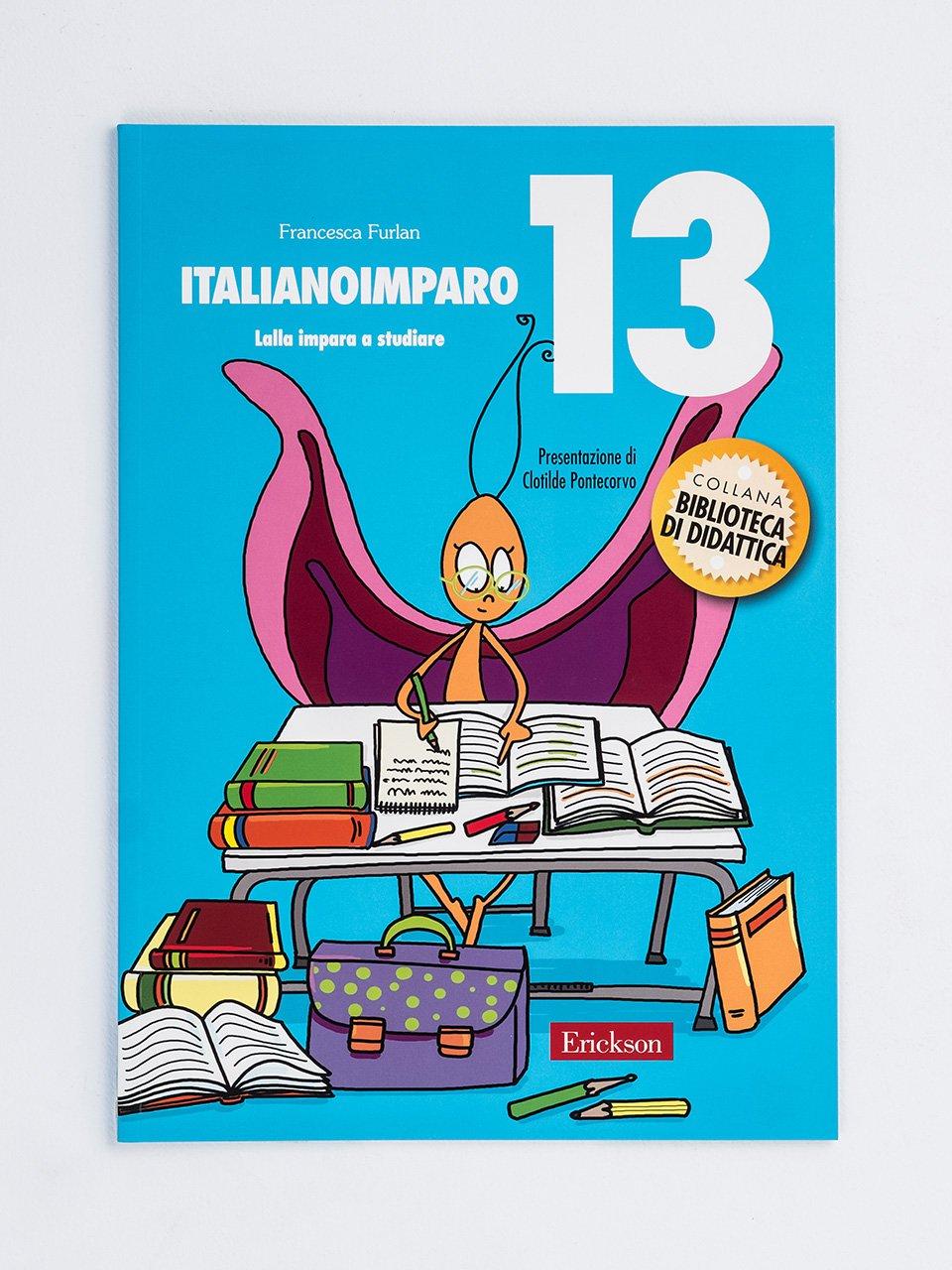 ItalianoImparo 13 - Competenze in azione! - Classe quarta - Area lingu - Libri - Erickson