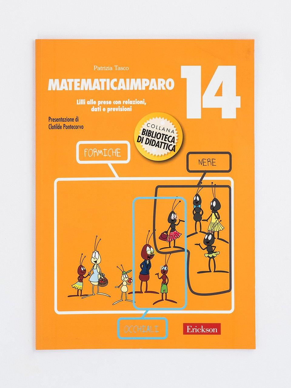 MatematicaImparo 14 - MatematicaImparo 10 - Libri - Erickson