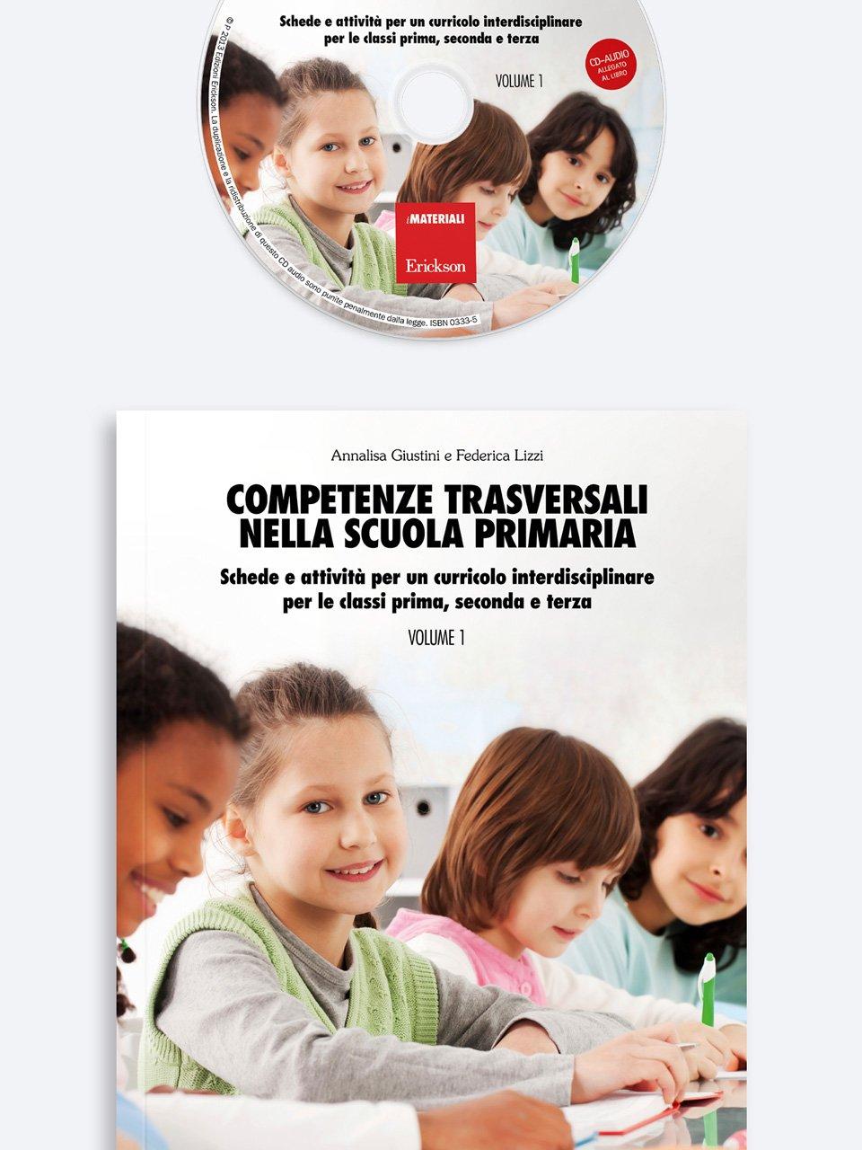 Competenze trasversali nella scuola primaria - Volume 1 - Agenda annuale dell'integrazione e del sostegno di - Strumenti - Erickson
