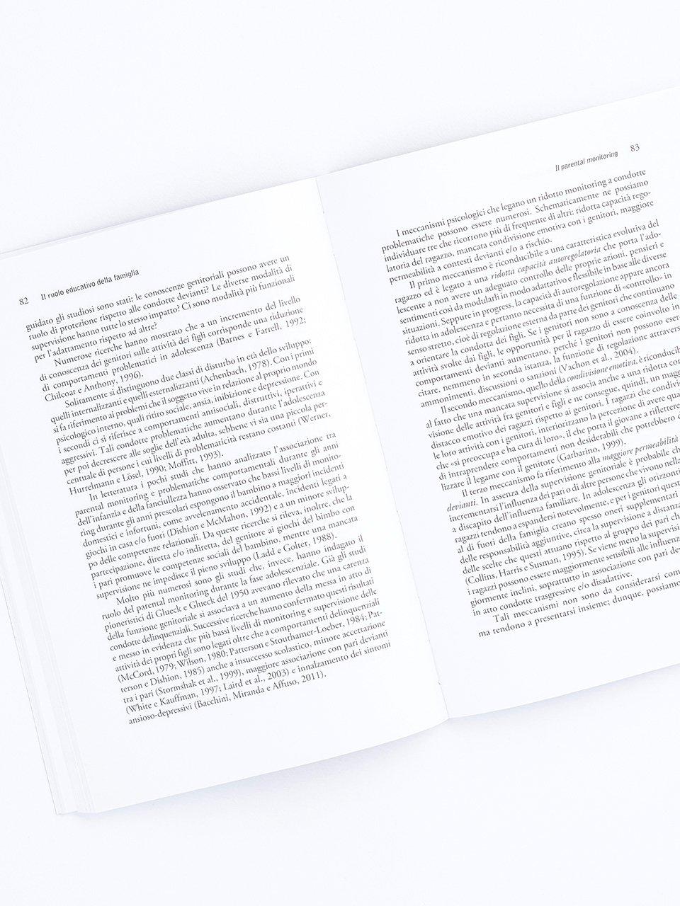 Il ruolo educativo della famiglia - Libri - Erickson 2