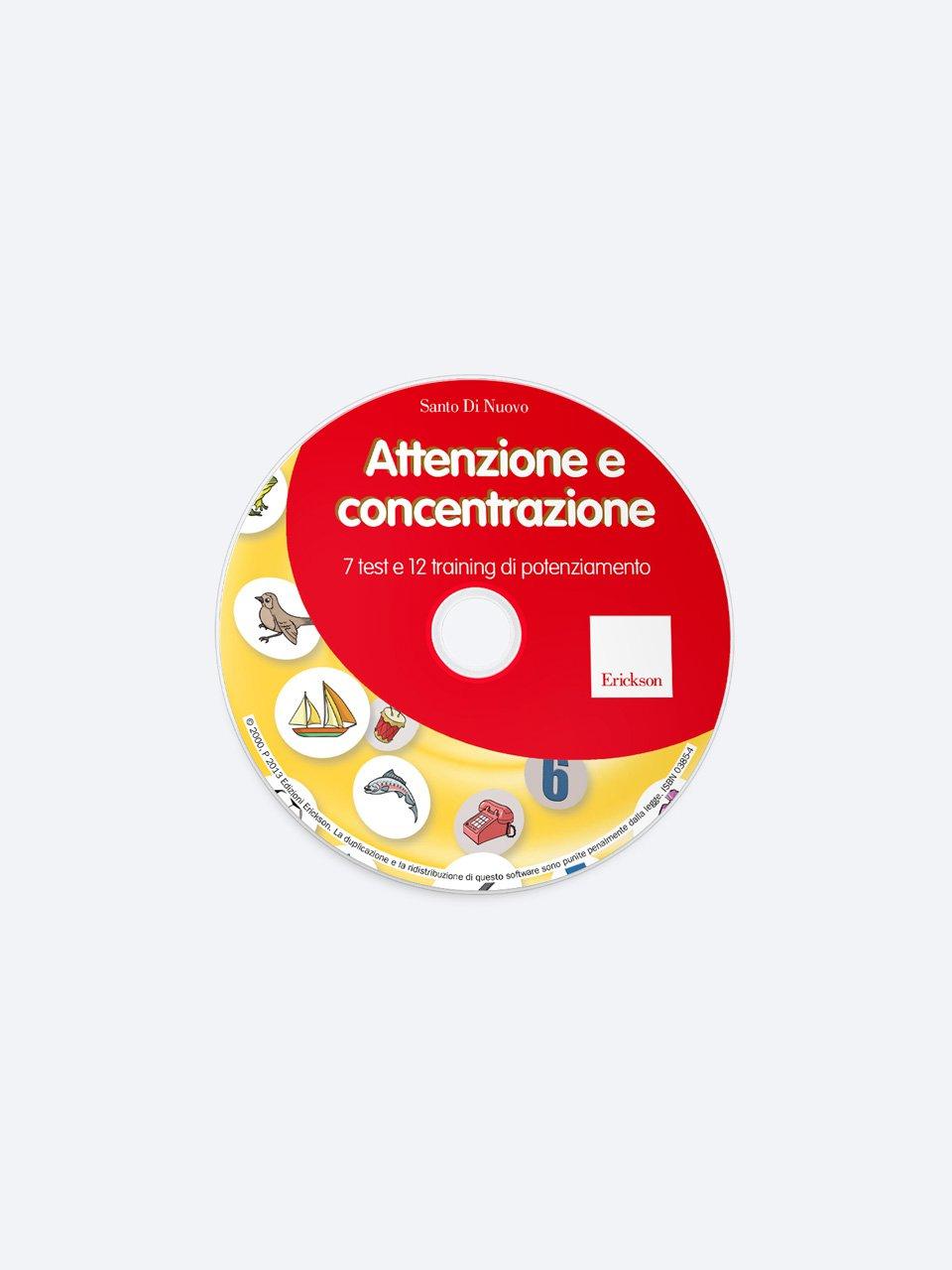 Attenzione e concentrazione - ADHD Homework Tutor®. - Formazione - Erickson