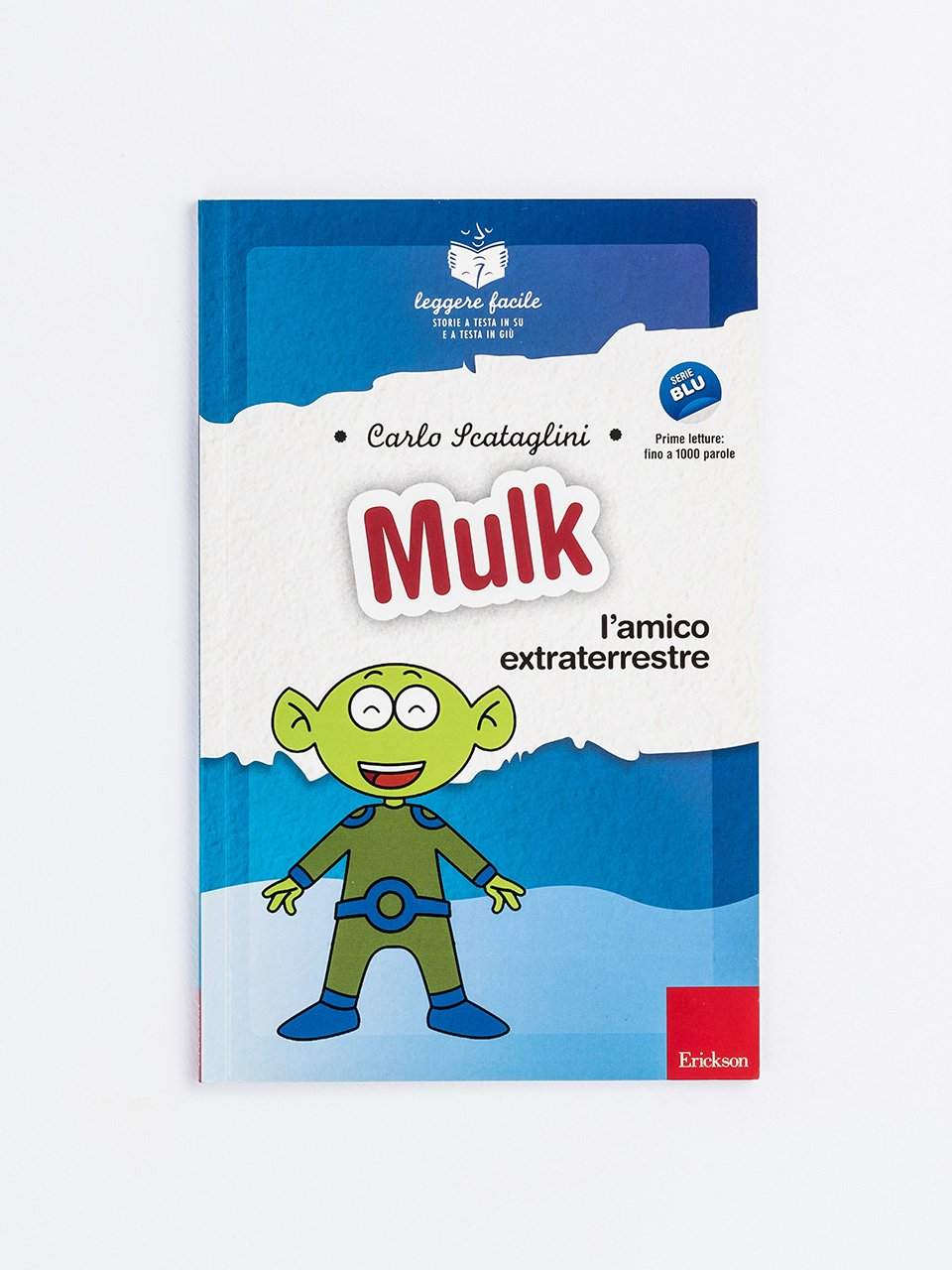 Leggere facile - Mulk l'amico extraterrestre - Topigno e la giungla da salvare - Libri - Erickson