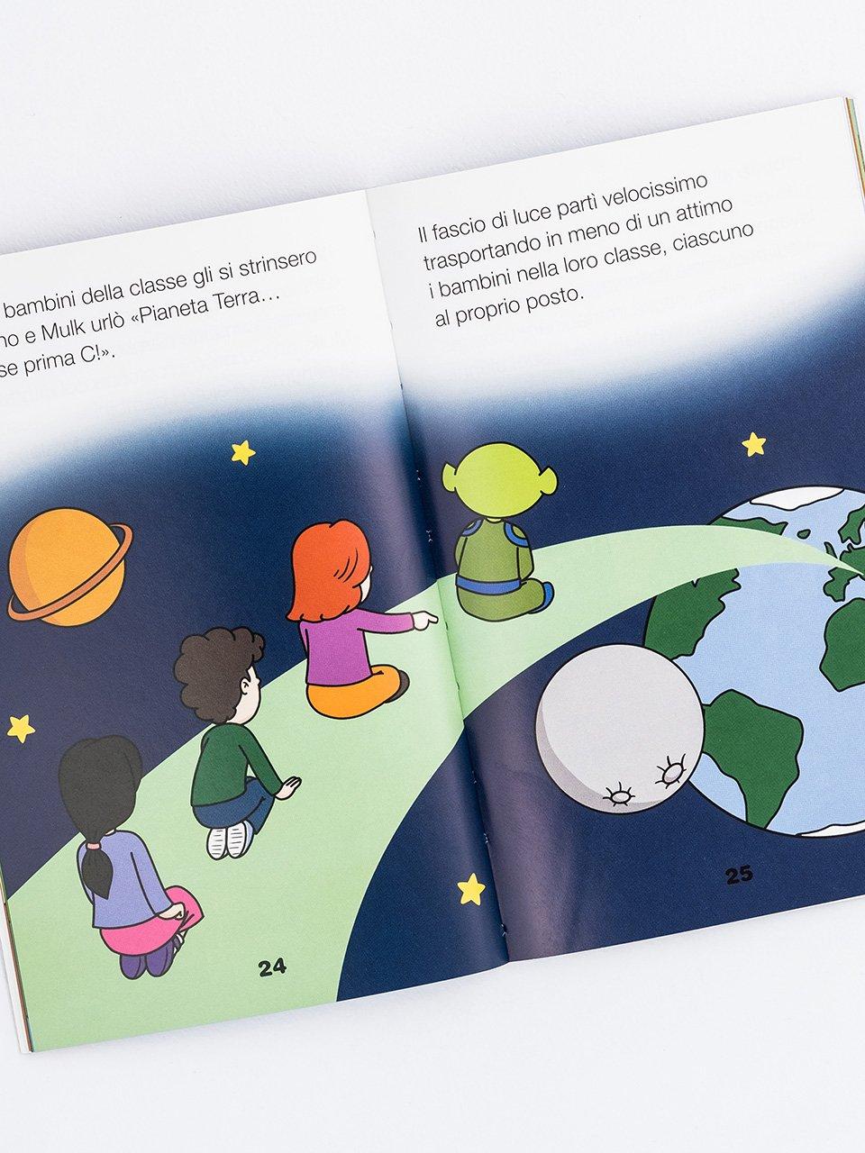 Leggere facile - Mulk l'amico extraterrestre - Libri - Erickson 2