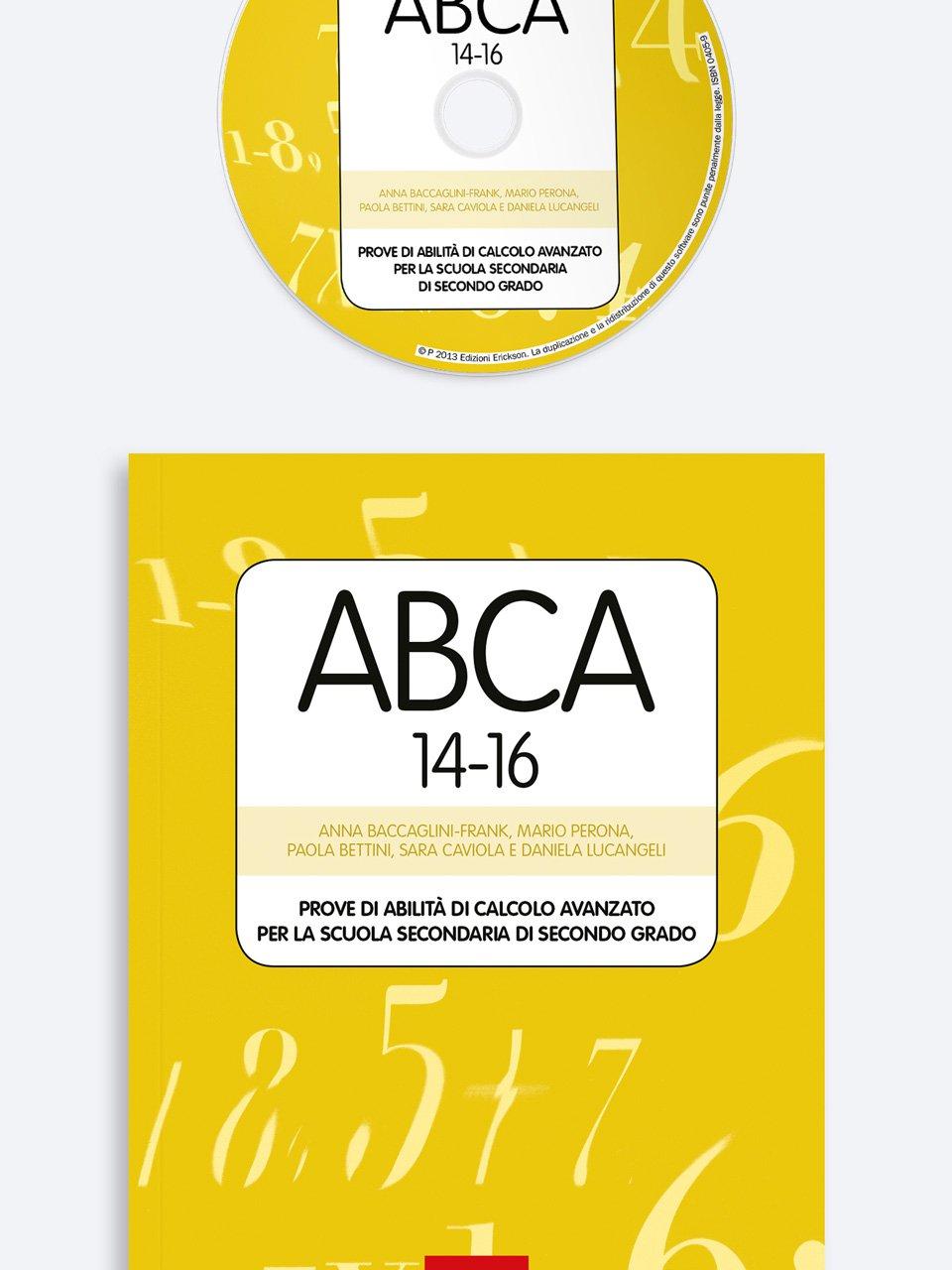 Test ABCA 14-16 - Daniela Lucangeli - Erickson