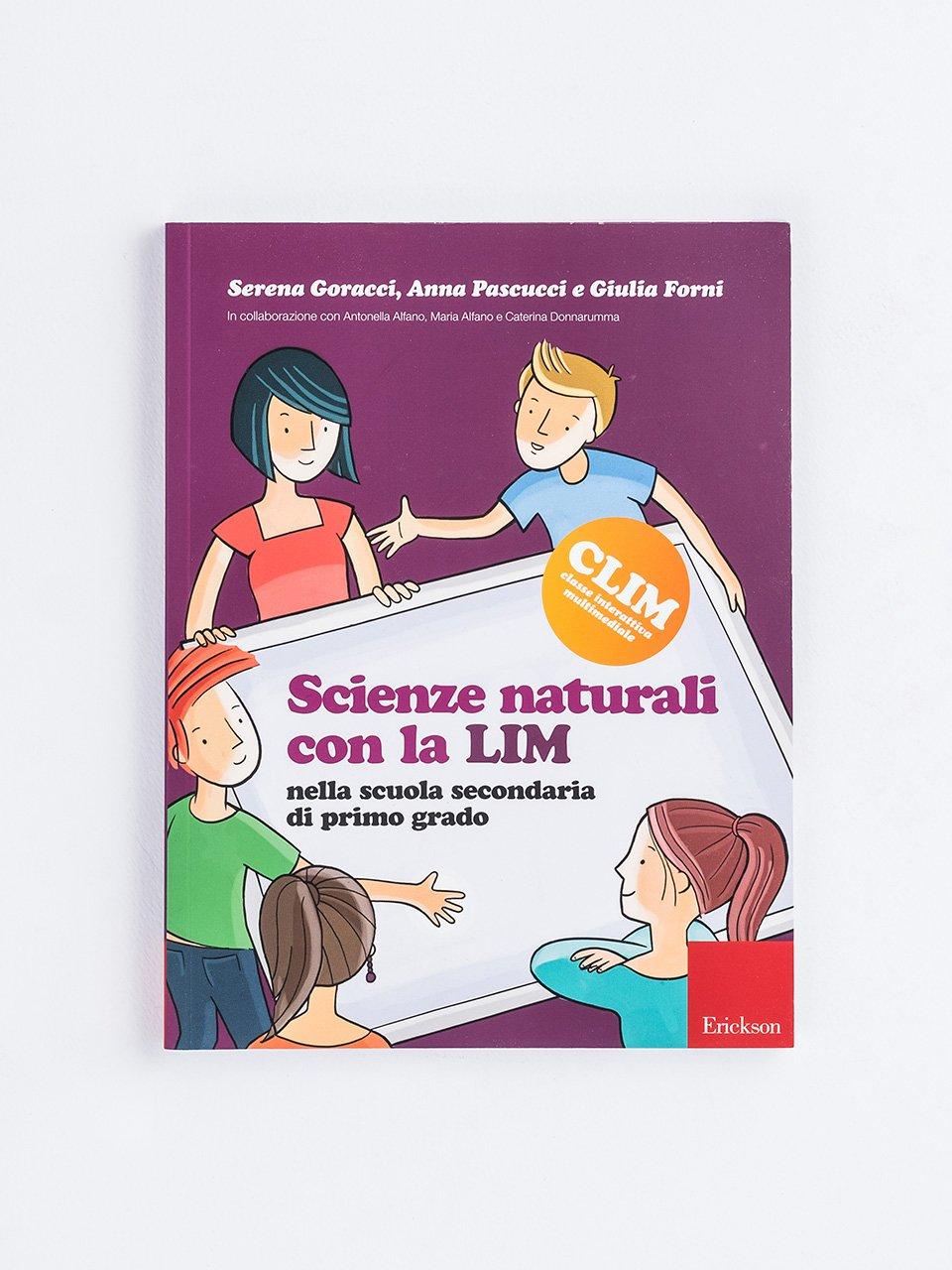 Scienze naturali con la LIM nella scuola secondaria di primo grado - Mia nonna era un pesce - Libri - Erickson
