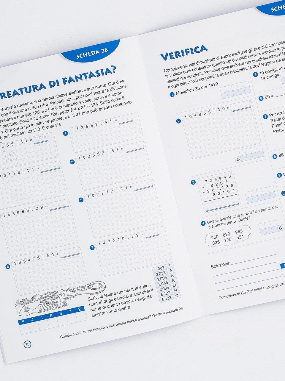 Gioco e imparo con i numeri - CLASSE QUINTA - Libri - Erickson 2