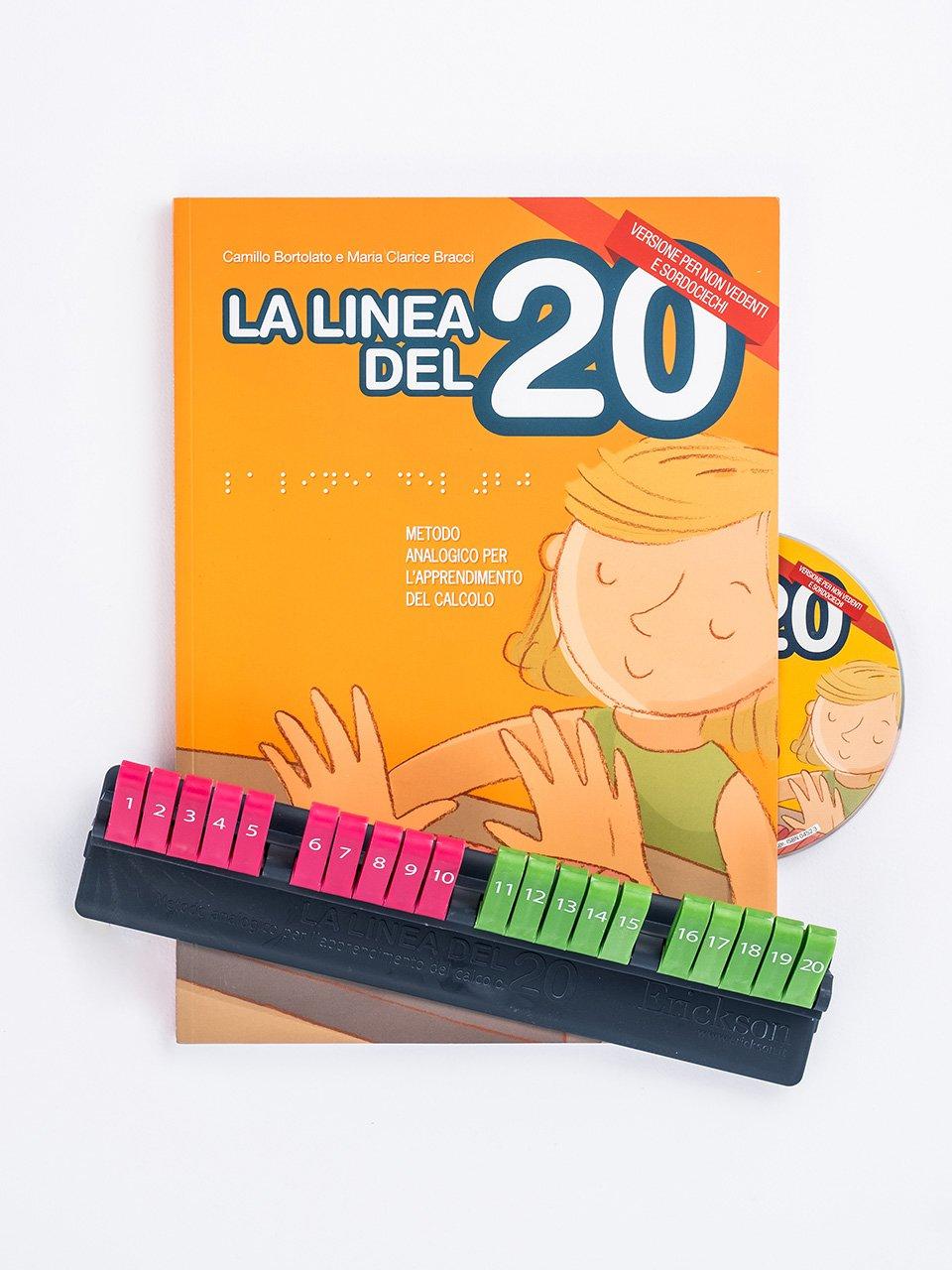La linea del 20 - Versione per non vedenti e sordociechi - La linea del 20 - Libri - Strumenti - Erickson