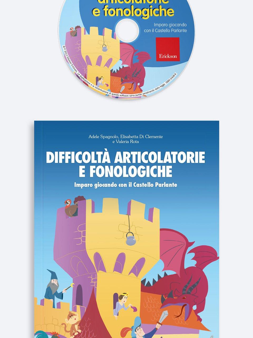 Difficoltà articolatorie e fonologiche - Test TVL - Valutazione del linguaggio - Libri - Strumenti - Erickson 3