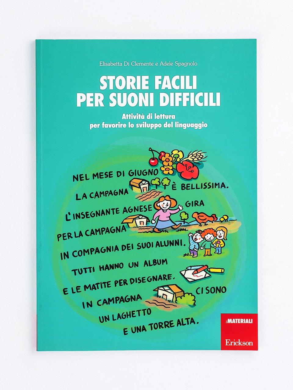 Storie facili per suoni difficili - Logopedia e comunicazione - Riviste - Erickson 3