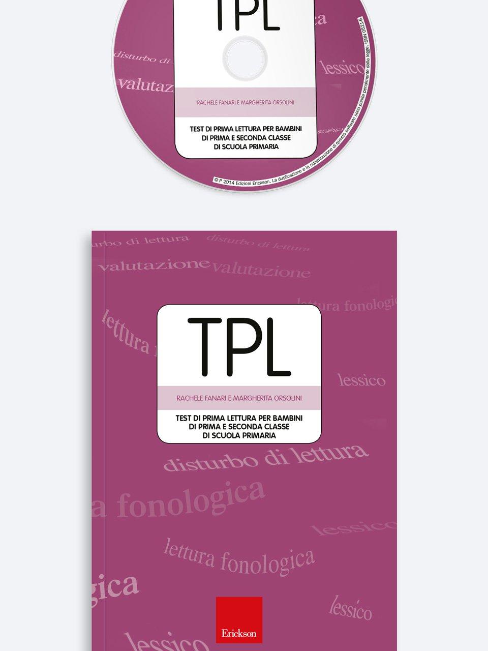 Test TPL - Giocadomino - Sinonimi - Giochi - Erickson