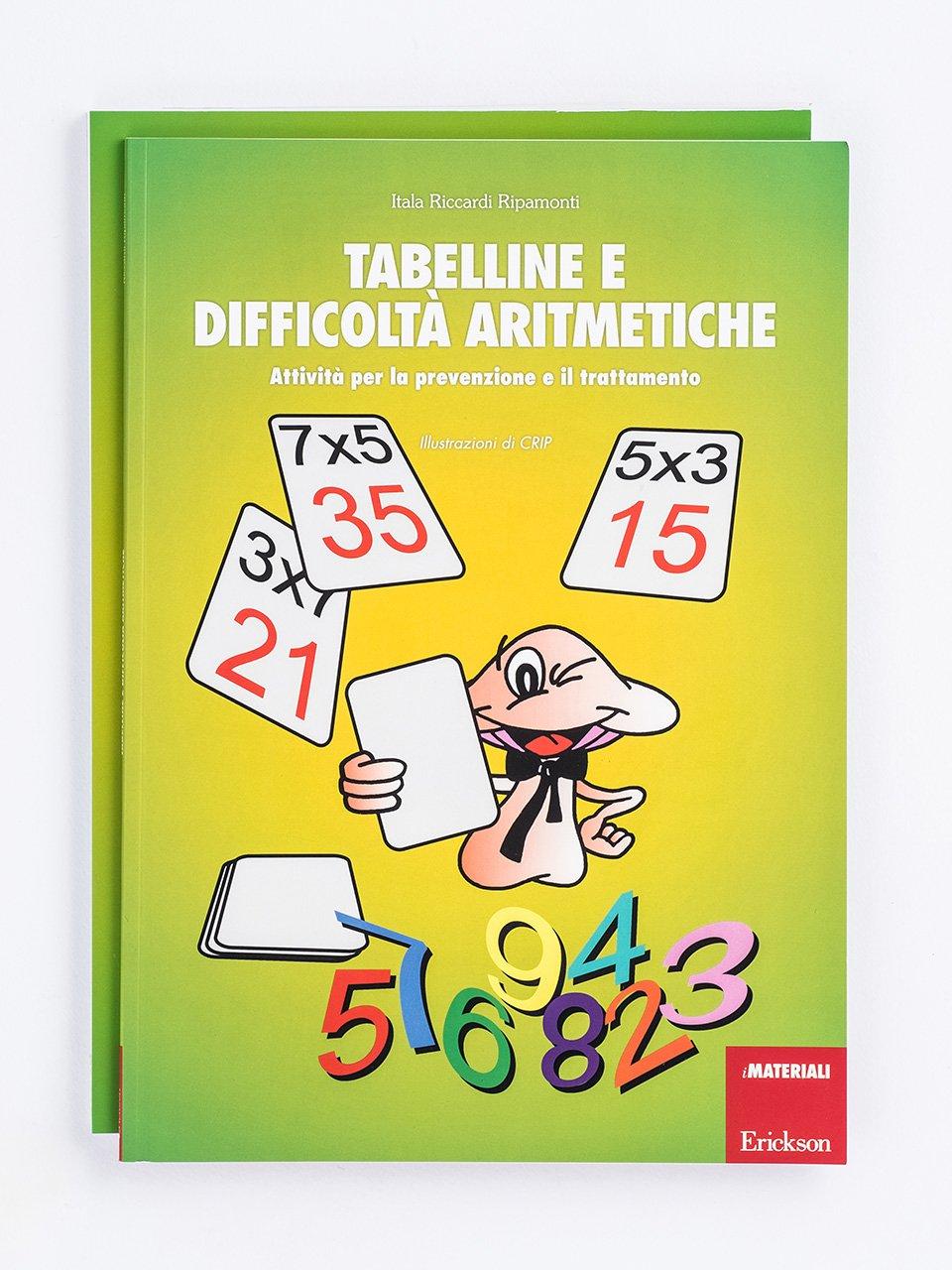 Tabelline e difficoltà aritmetiche - Libri - App e software - Erickson