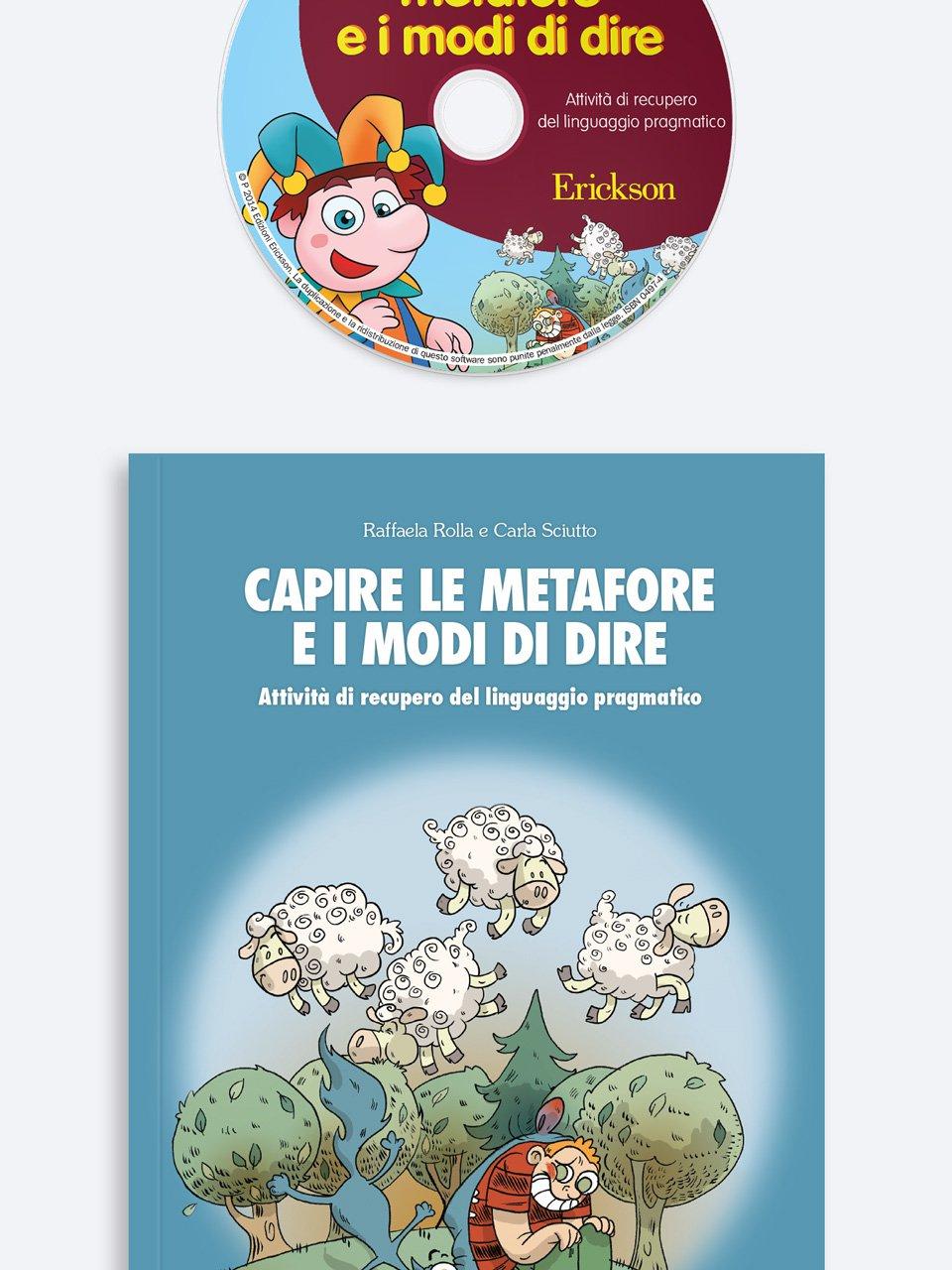 Capire le metafore e i modi di dire - App e software per Scuola, Autismo, Dislessia e DSA - Erickson 2