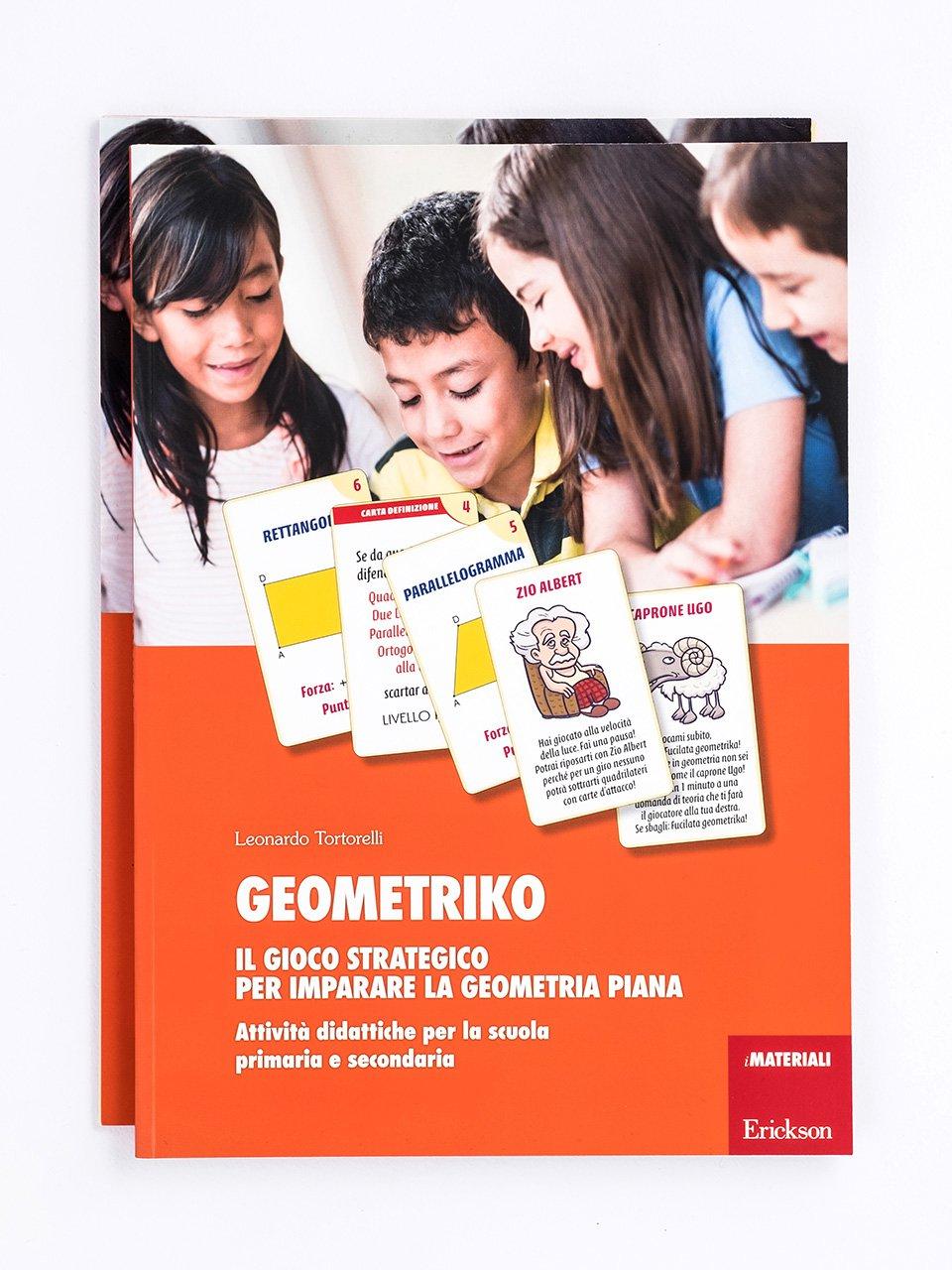 Geometriko - Il gioco strategico per imparare la geometria piana - Il mago dei numeri - App e software - Erickson