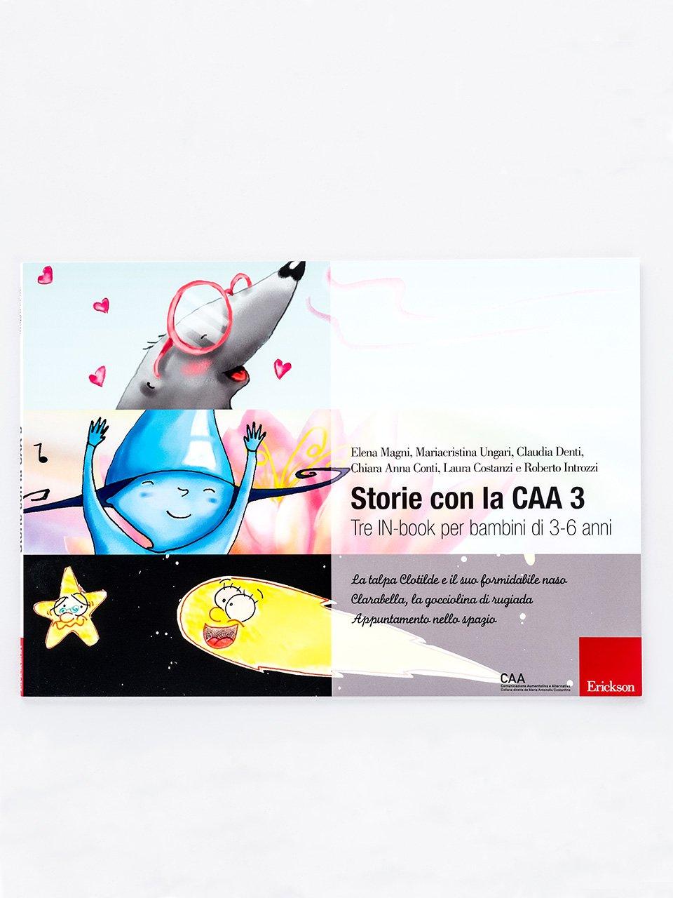 Storie con la CAA 3 - I Classici con la CAA - Pinocchio - Libri - Erickson