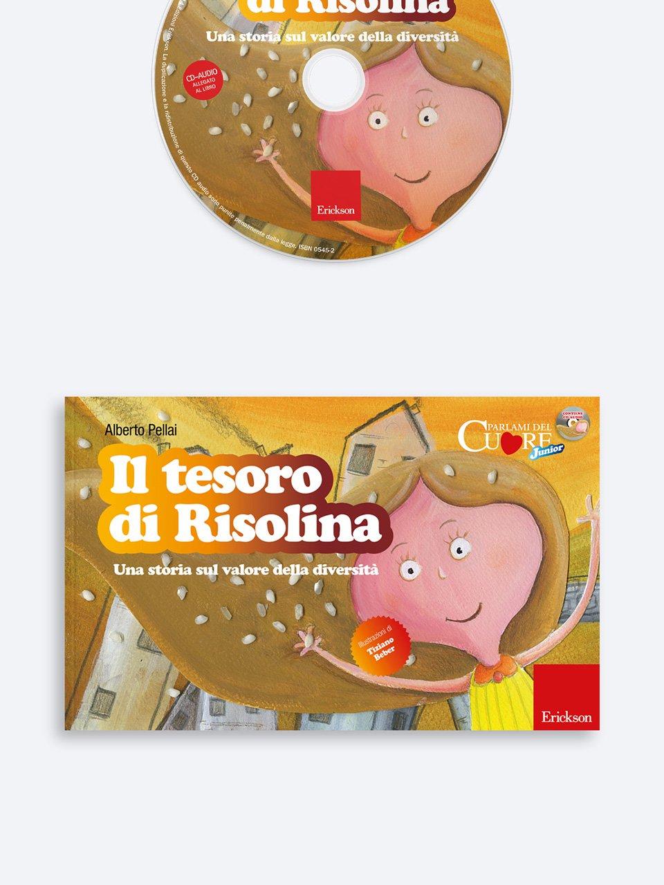 Il tesoro di Risolina - Alberto Pellai - Erickson