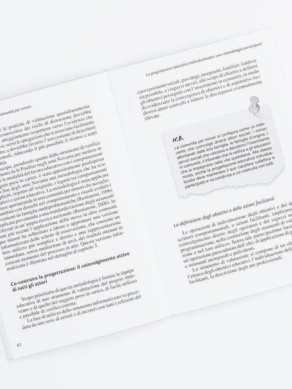 Il progetto educativo nelle comunità per minori - Libri - Erickson 2