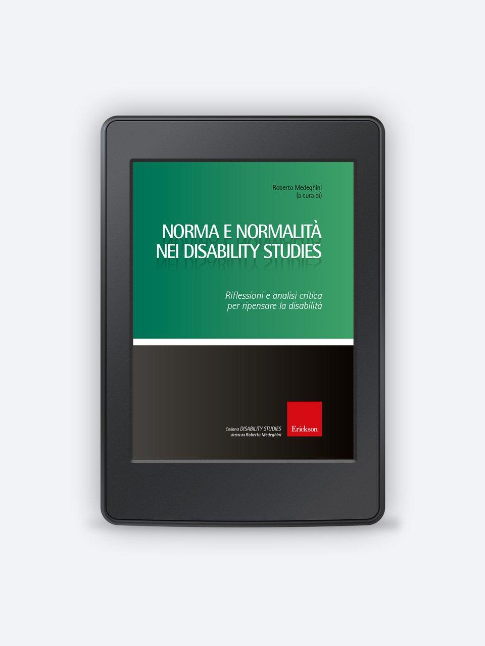 Norma e normalità nei disability studies - Libri - Erickson 3