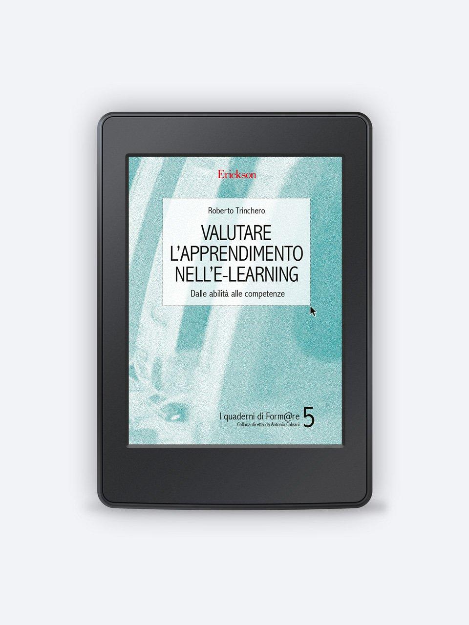 Valutare l'apprendimento nell'e-learning - Test TVD - Valutazione del disagio e dispersione s - Libri - Erickson