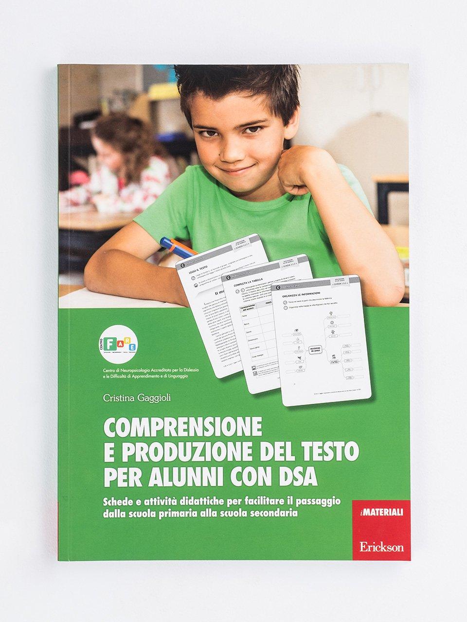 Comprensione e produzione del testo per alunni con DSA - Italiano in terza con il metodo analogico - Libri - Erickson