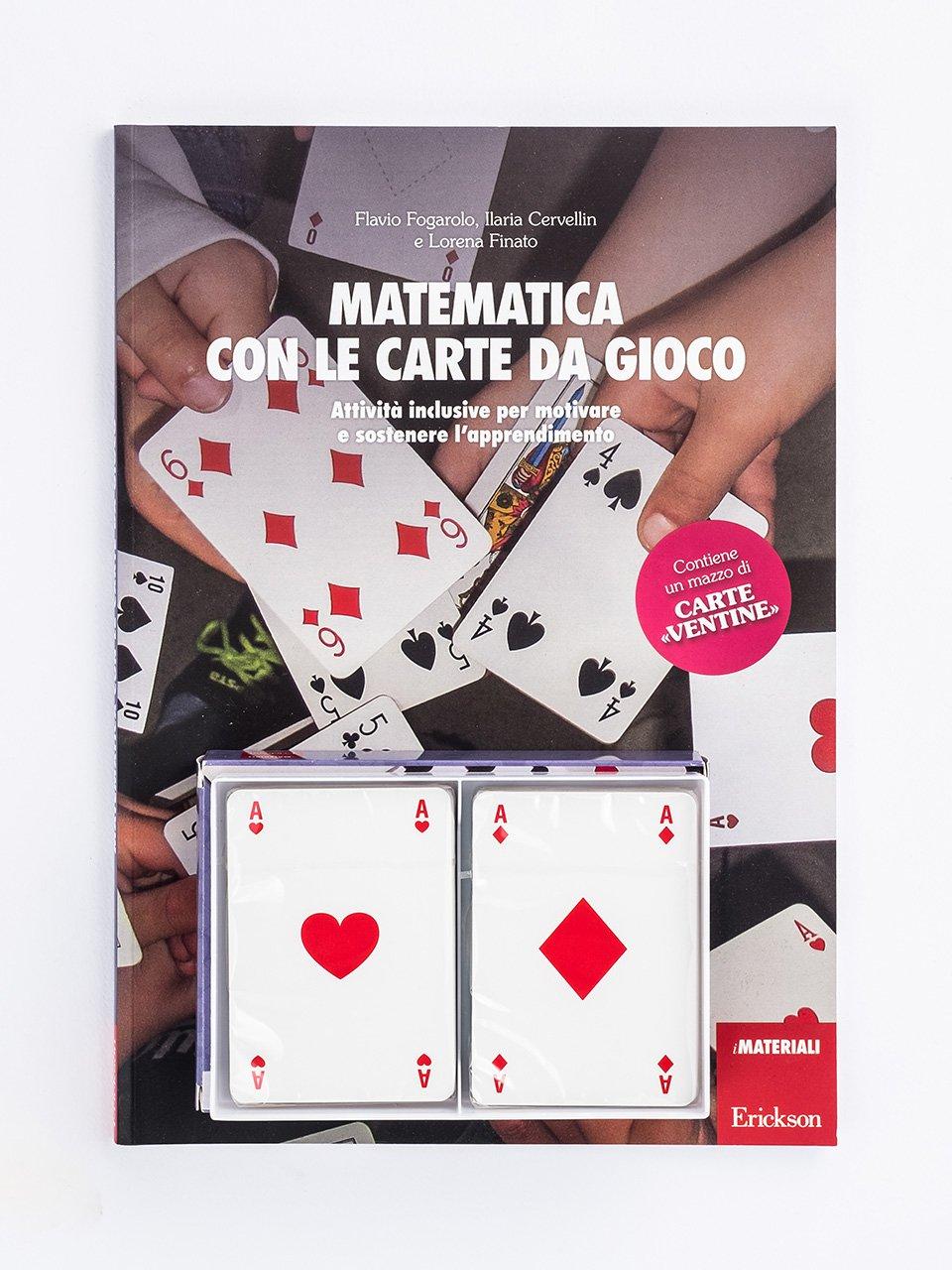 Matematica con le carte da gioco - Giocadomino - Frazioni e numeri decimali - Giochi - Erickson