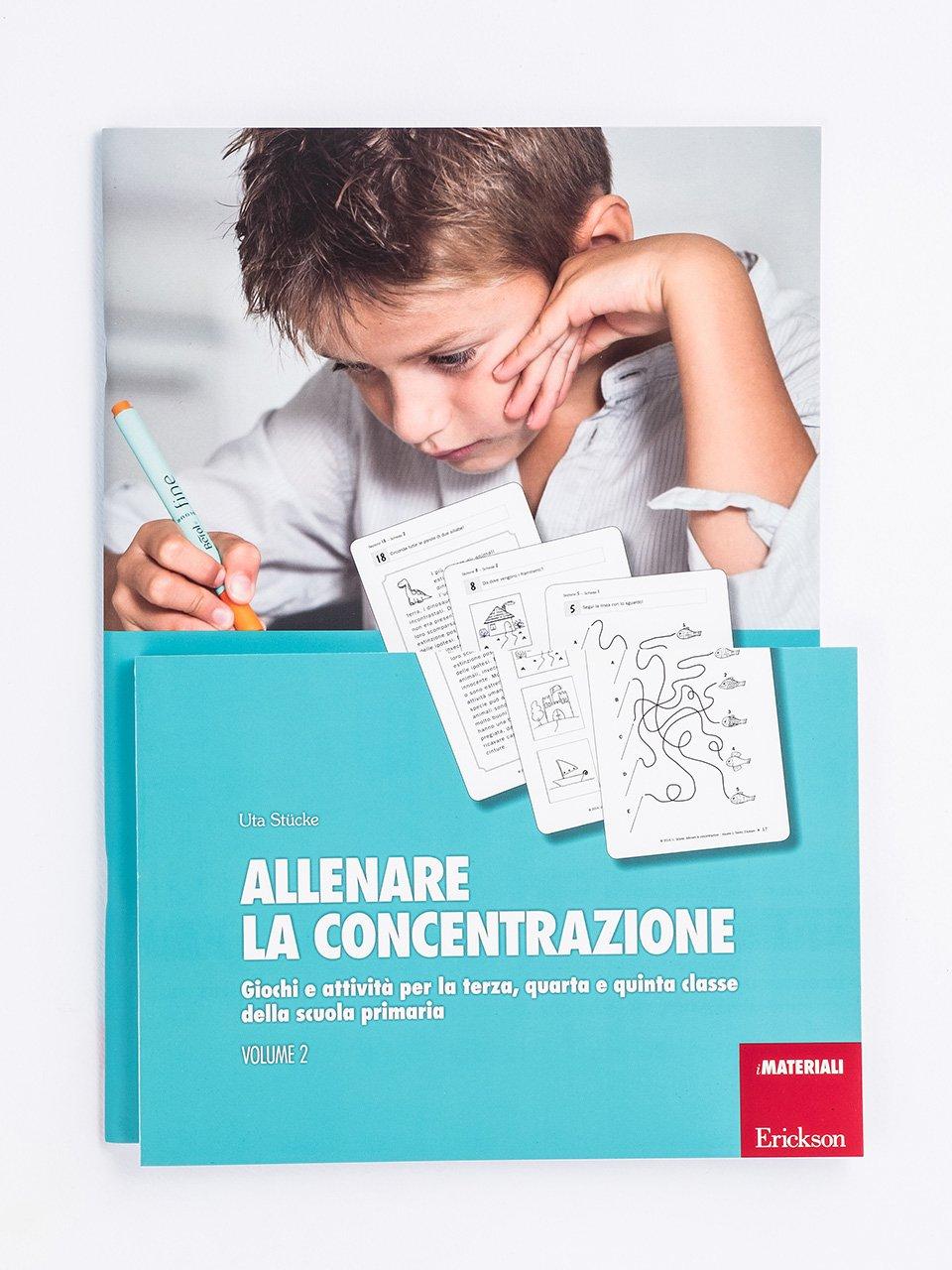 Allenare la concentrazione - Volume 2 - Libri - App e software - Erickson