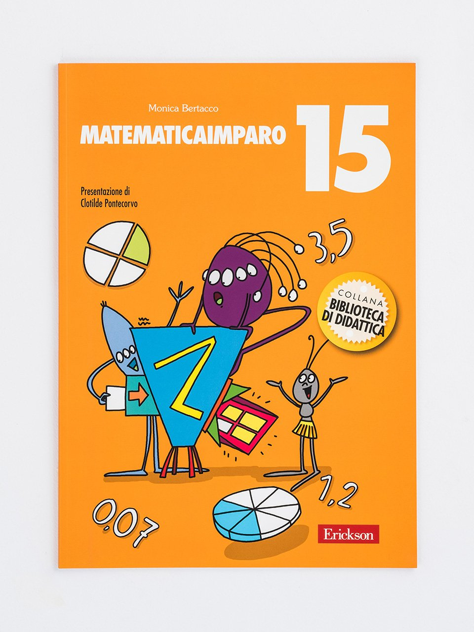 MatematicaImparo 15 - MatematicaImparo 10 - Libri - Erickson