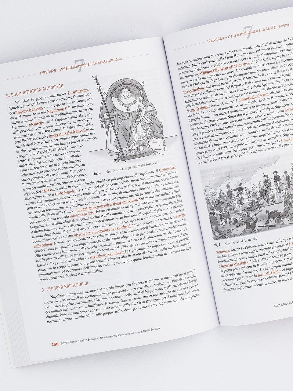 Storia facile per le scuole superiori - Volume 2 - Libri - Erickson 2