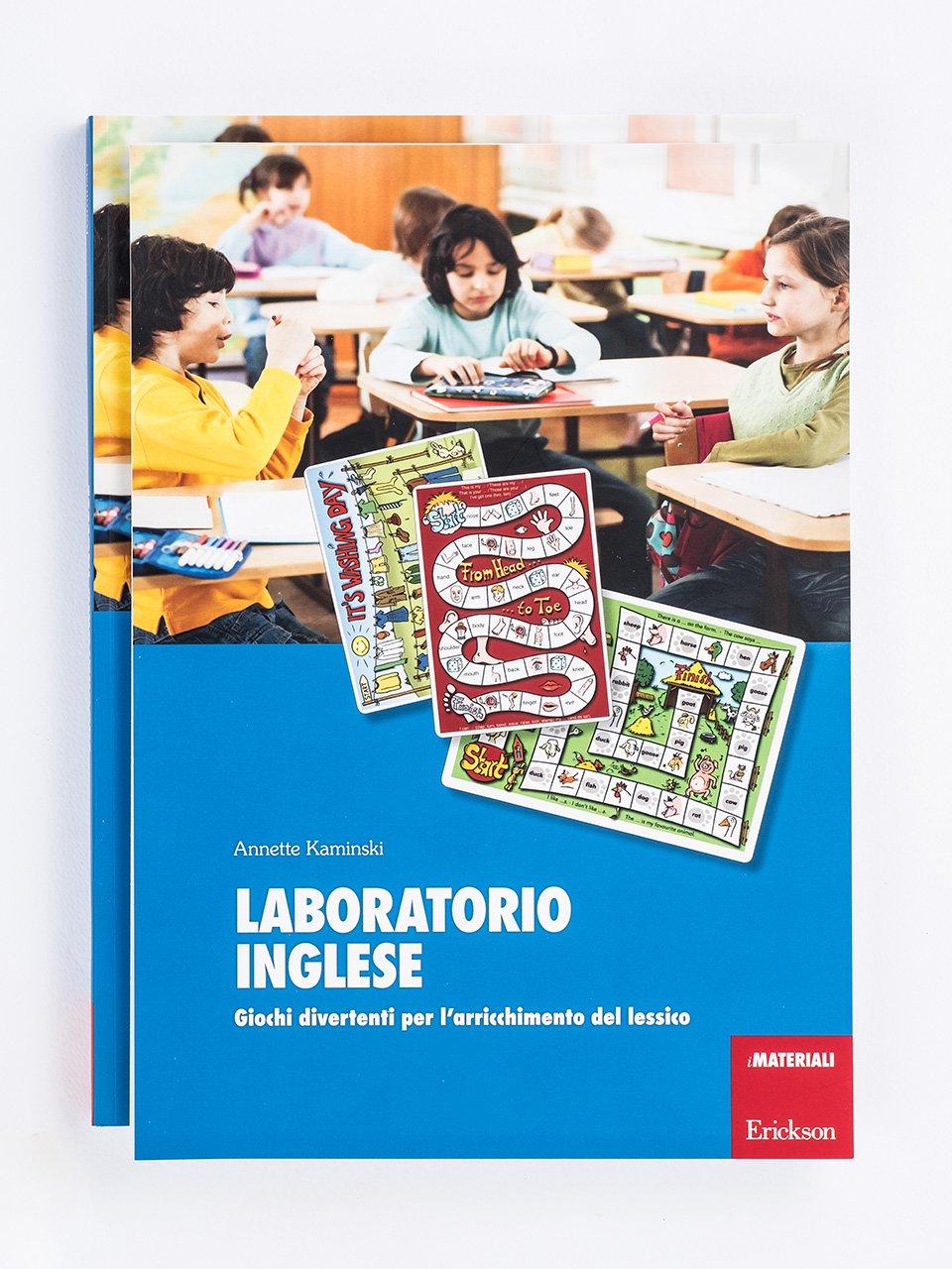 Laboratorio inglese - Schede per Tablotto (Età 8+) - Play and Learn with - Giochi - Erickson