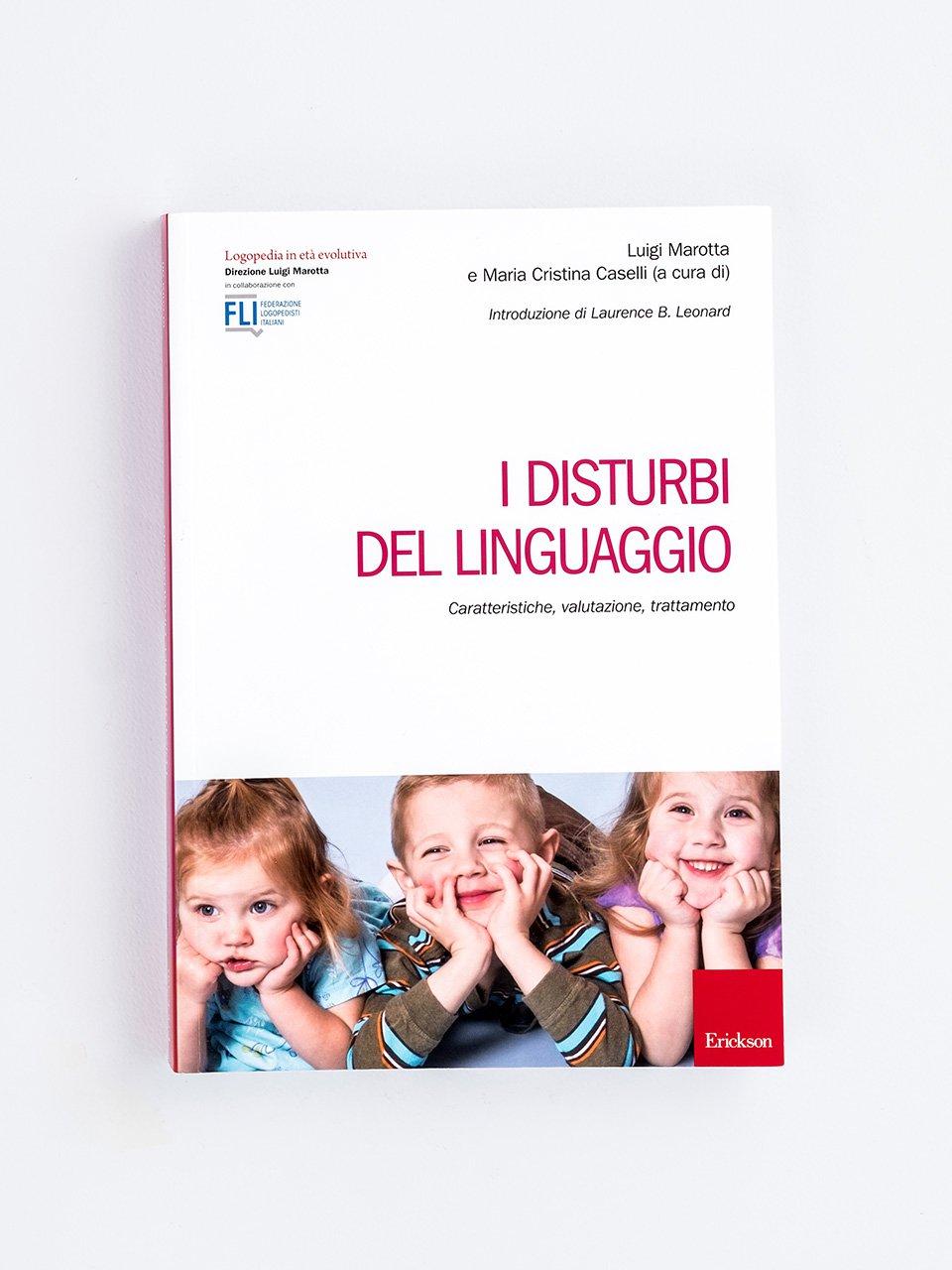 I disturbi del linguaggio - Il linguaggio simbolico in psicomotricità relazion - Libri - Erickson