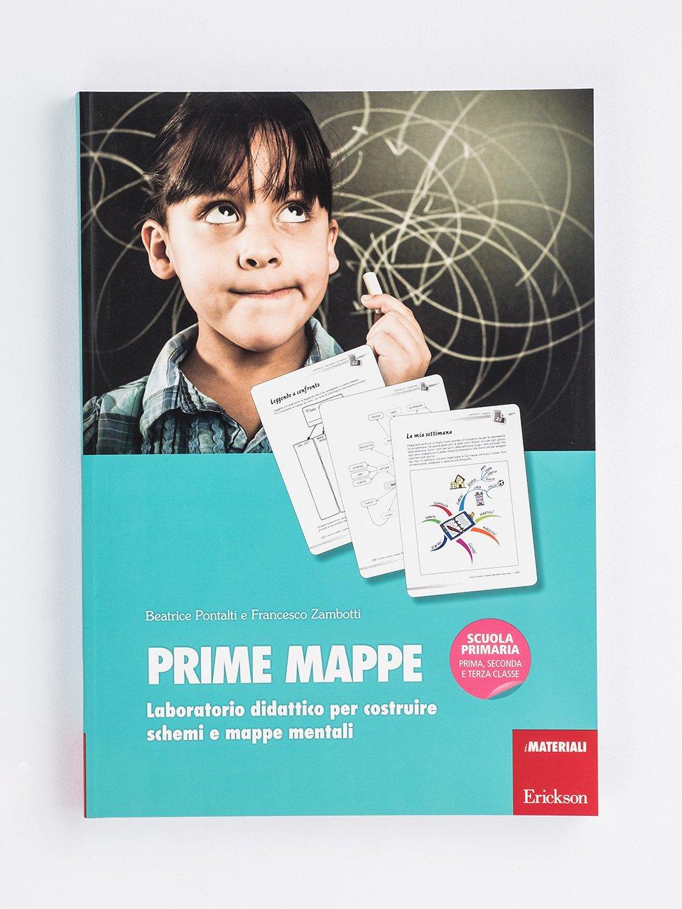 PRIME MAPPE - Schede per Tablotto (6-8 anni) - Parole e frasi st - Giochi - Erickson