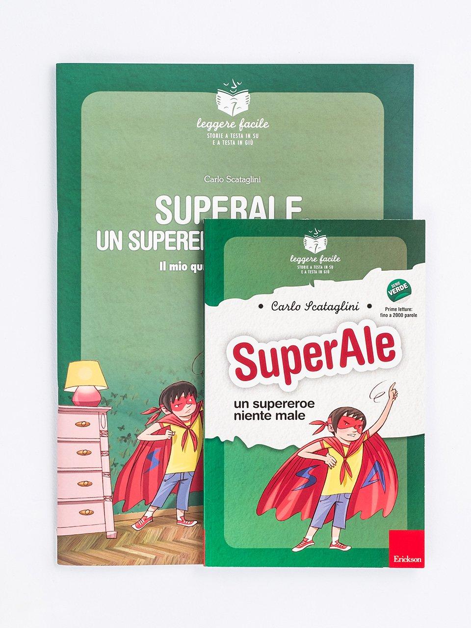 SuperAle, un supereroe niente male - Libri sulla Difficoltà di Linguaggio - Erickson