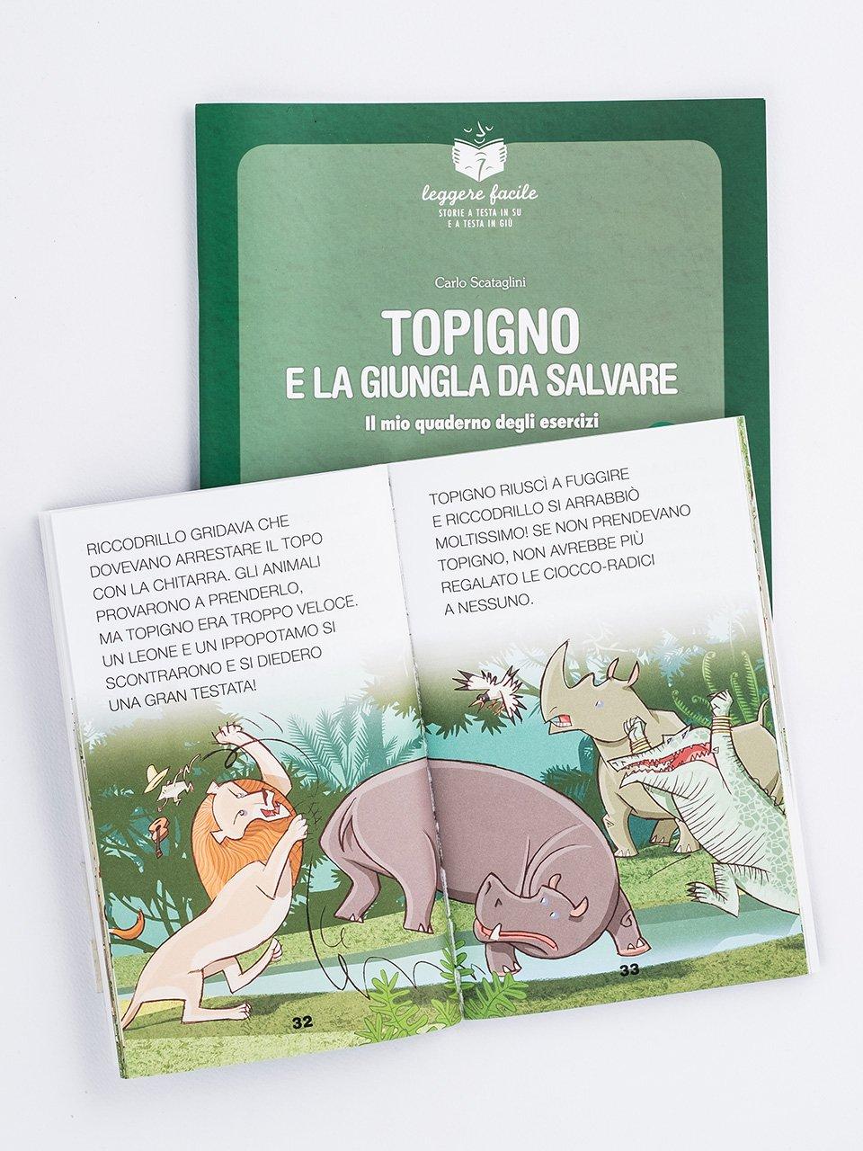 Topigno e la giungla da salvare - Libri - Erickson 2