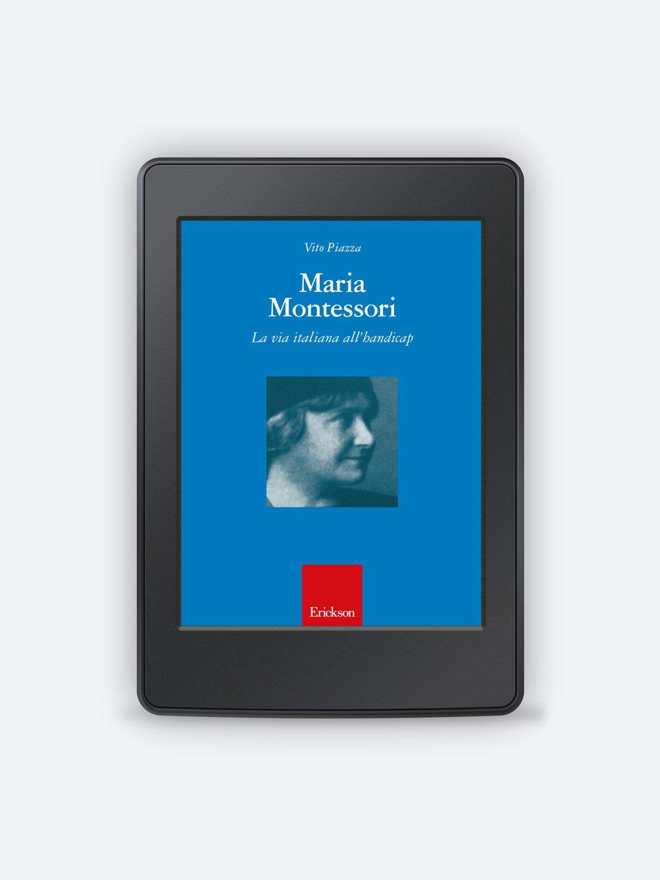 Maria Montessori - La valutazione inclusiva - Formazione - Erickson