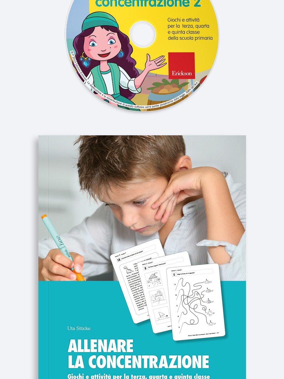 Allenare la concentrazione - Volume 2 - Libri - App e software - Erickson 7