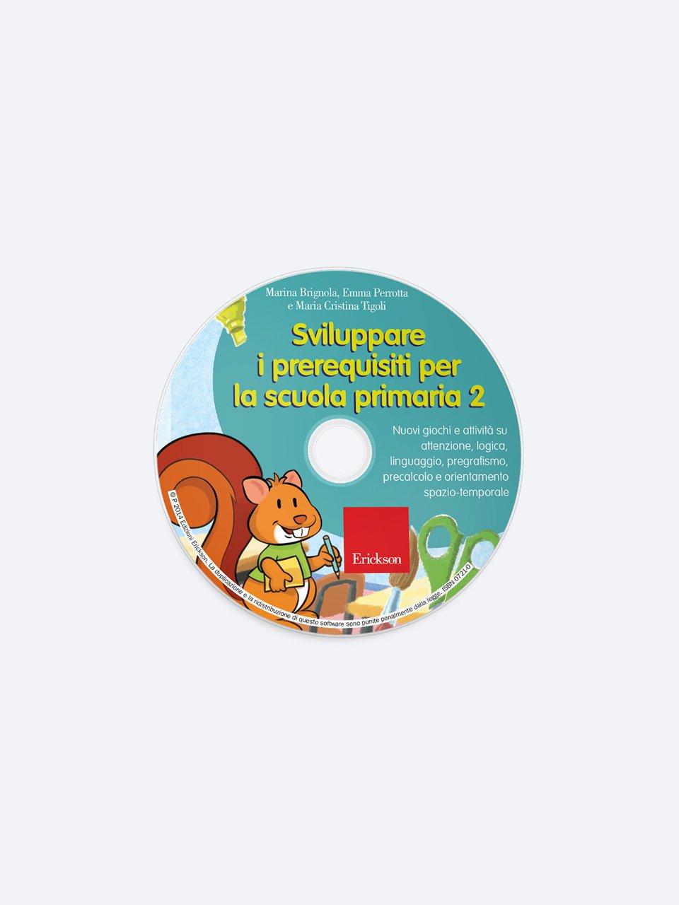 Sviluppare i prerequisiti per la scuola primaria - Volume 2 - Le proposte Erickson per i compiti-delle-vacanze - Erickson 2