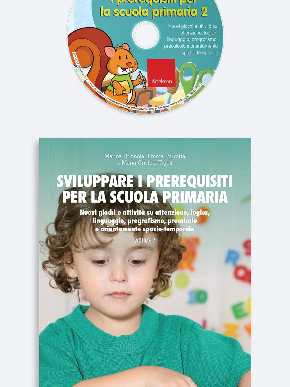 Sviluppare i prerequisiti per la scuola primaria - Volume 2 - Le proposte Erickson per i compiti-delle-vacanze - Erickson 3