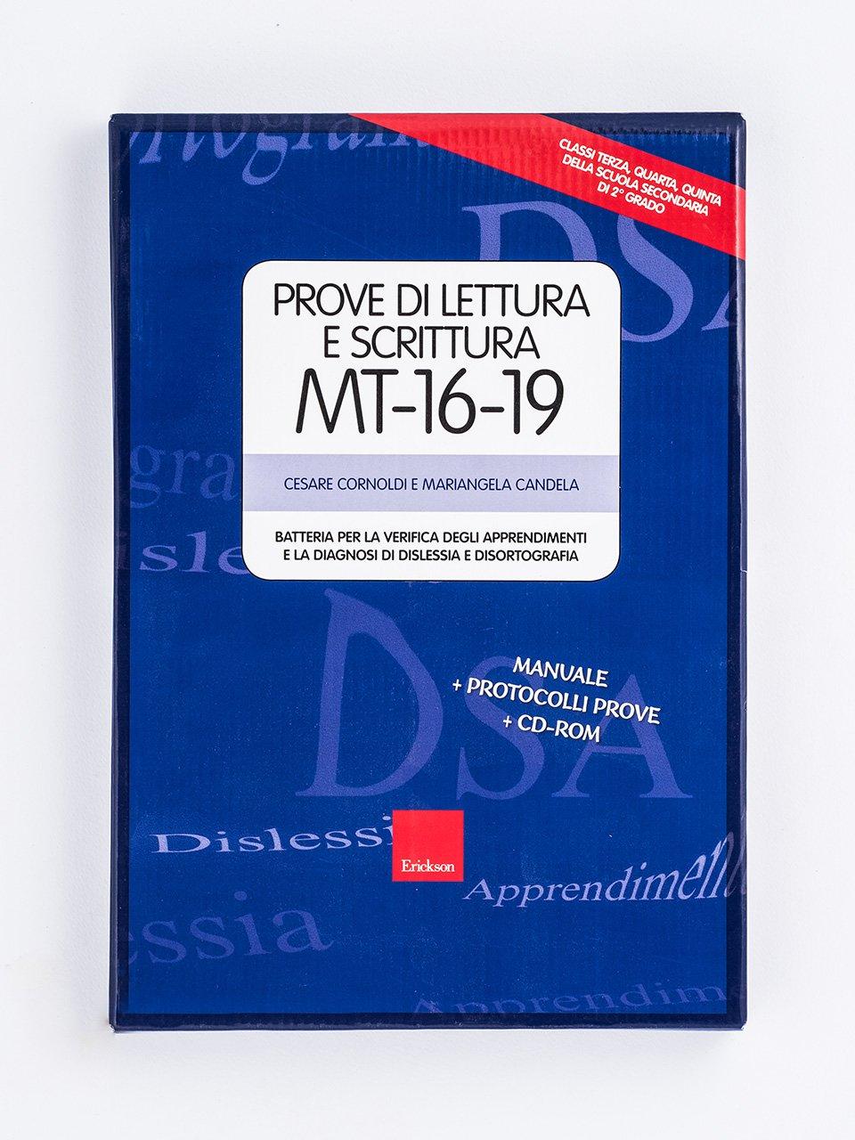 Prove di lettura e scrittura MT-16-19 - Libri - Erickson 2
