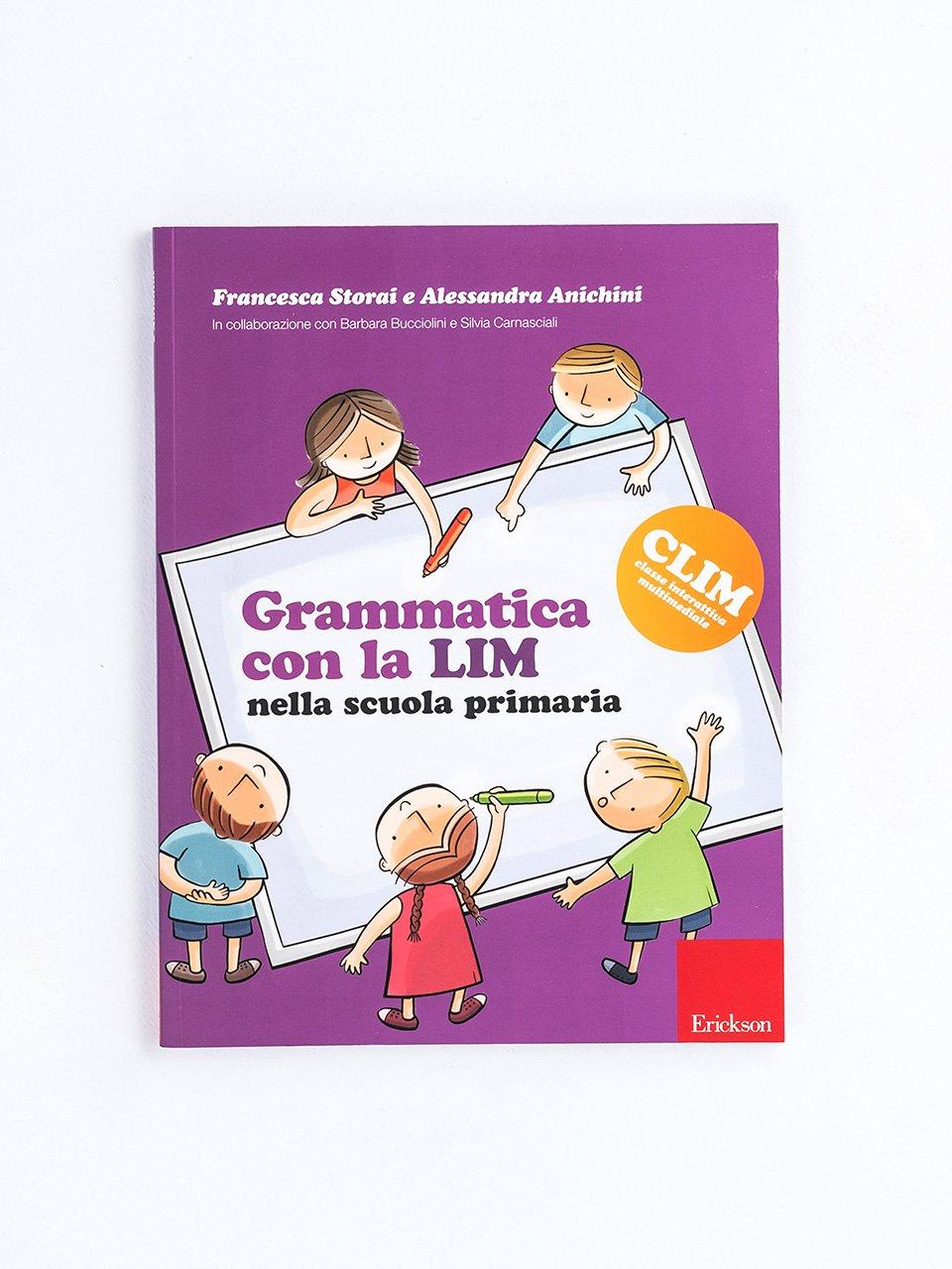 Grammatica con la LIM nella scuola primaria - Produzione del testo - Erickson