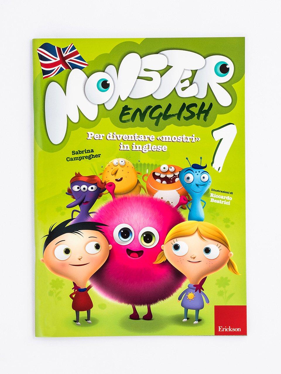 Monster English 1 - Le proposte Erickson per i compiti-delle-vacanze - Erickson
