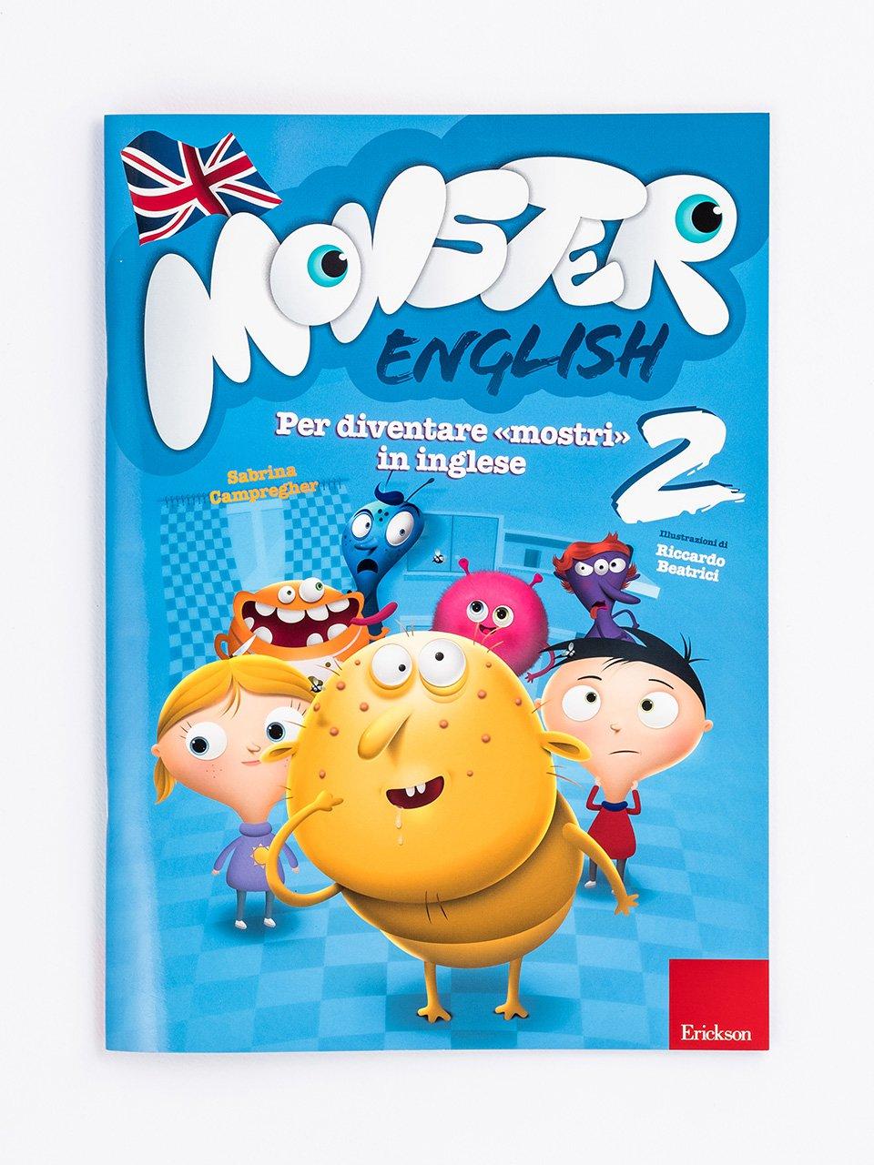 Monster English 2 - Le proposte Erickson per i compiti-delle-vacanze - Erickson