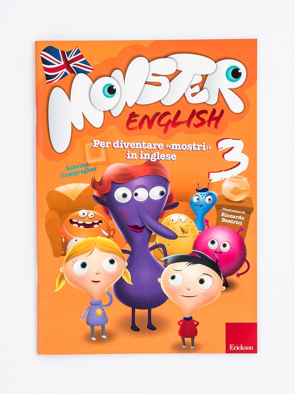 Monster English 3 - Le proposte Erickson per i compiti-delle-vacanze - Erickson