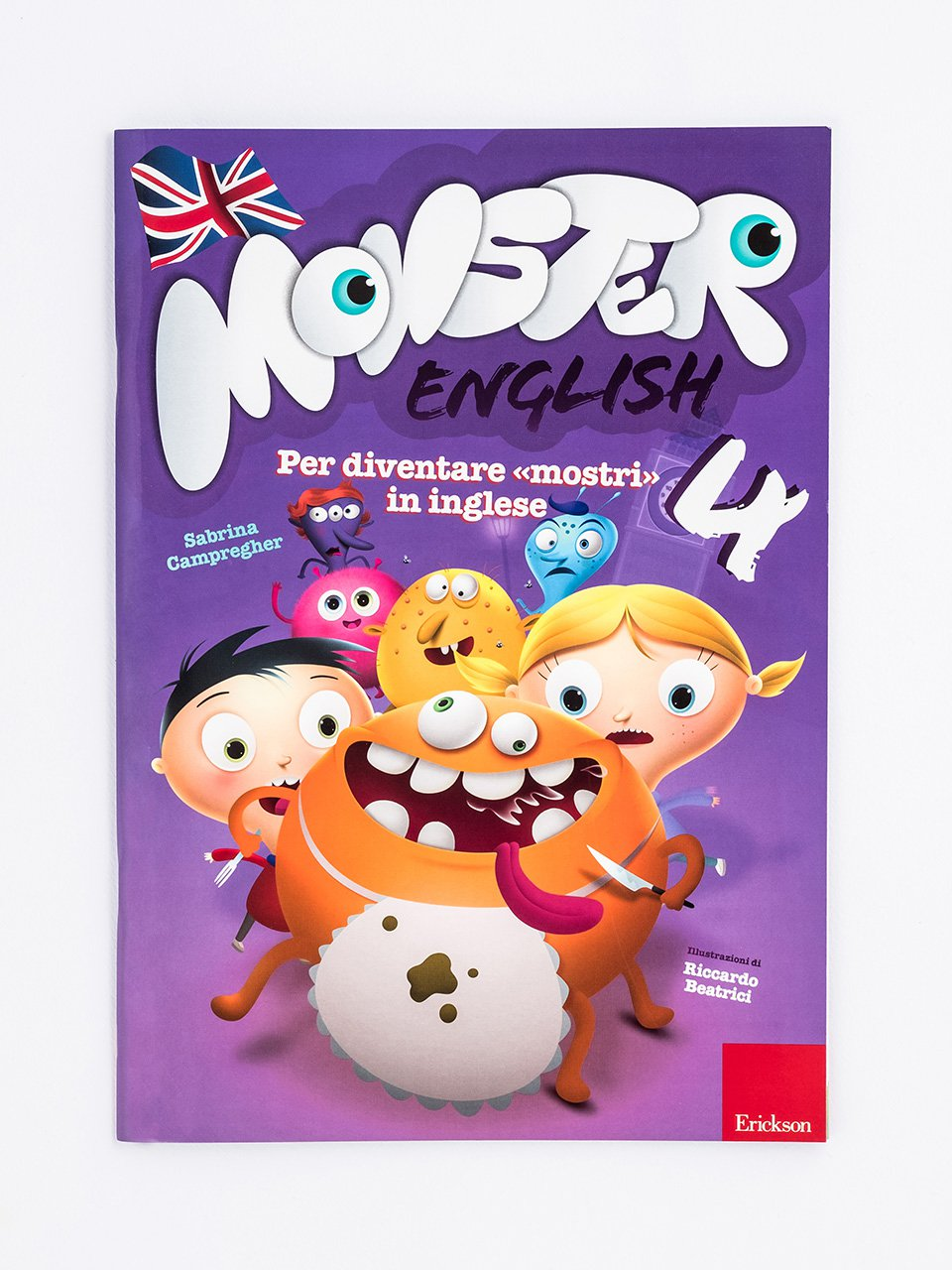 Monster English 4 - Le proposte Erickson per i compiti-delle-vacanze - Erickson