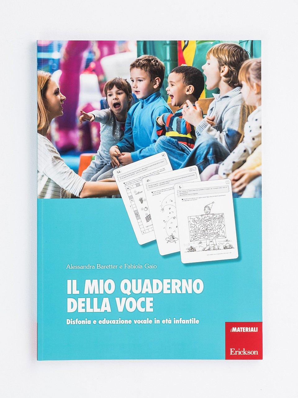 Il mio quaderno della voce - Test TVL - Valutazione del linguaggio - Libri - Strumenti - Erickson