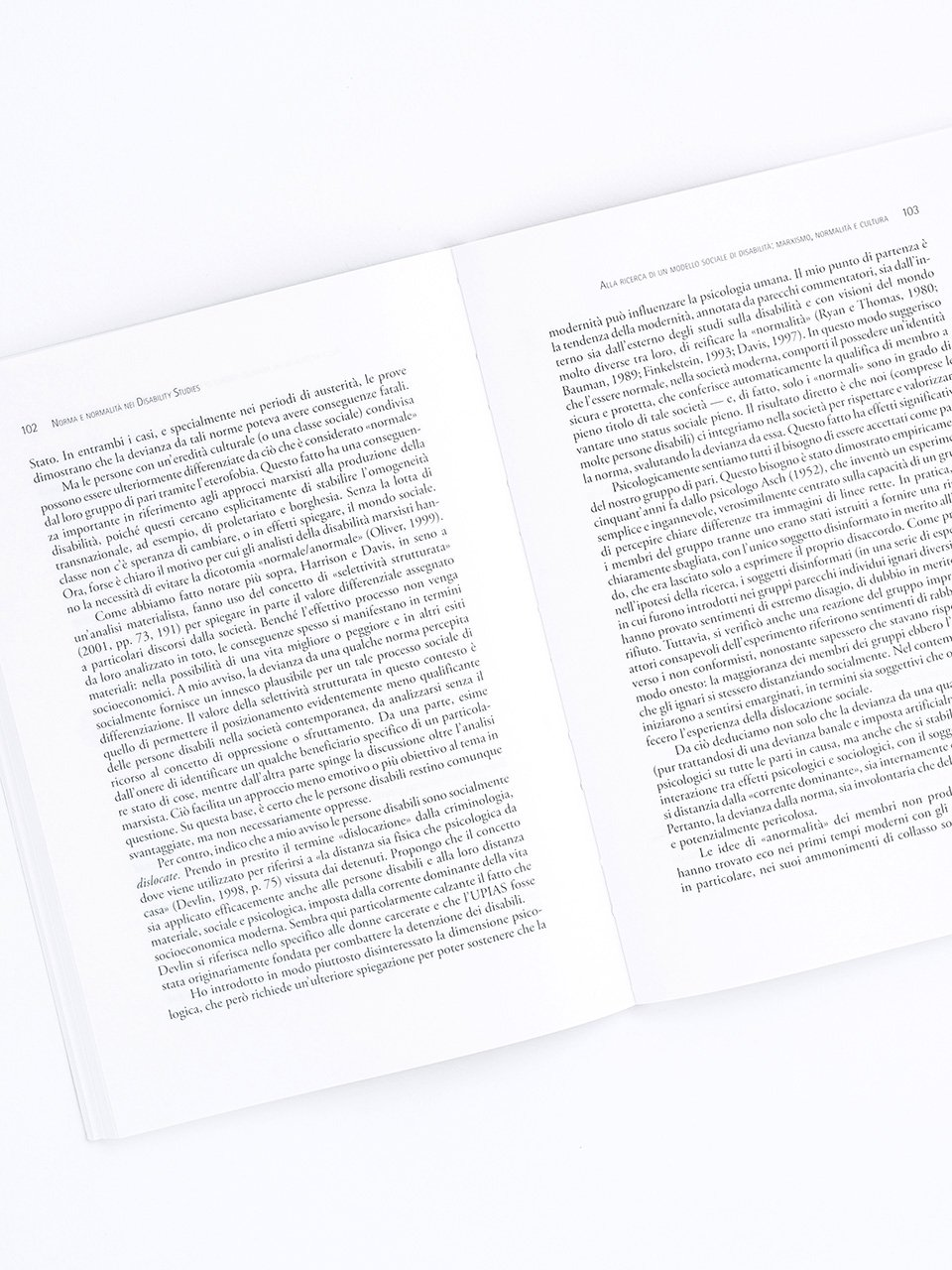 Norma e normalità nei disability studies - Libri - Erickson 2