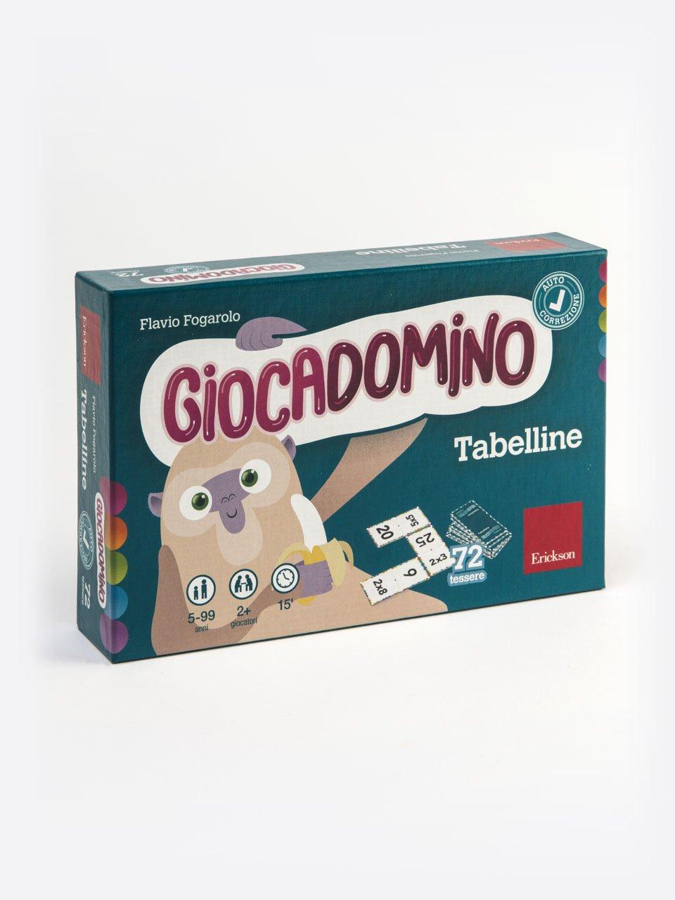 Giocadomino - Tabelline - Giocadomino - Frazioni e numeri decimali - Giochi - Erickson