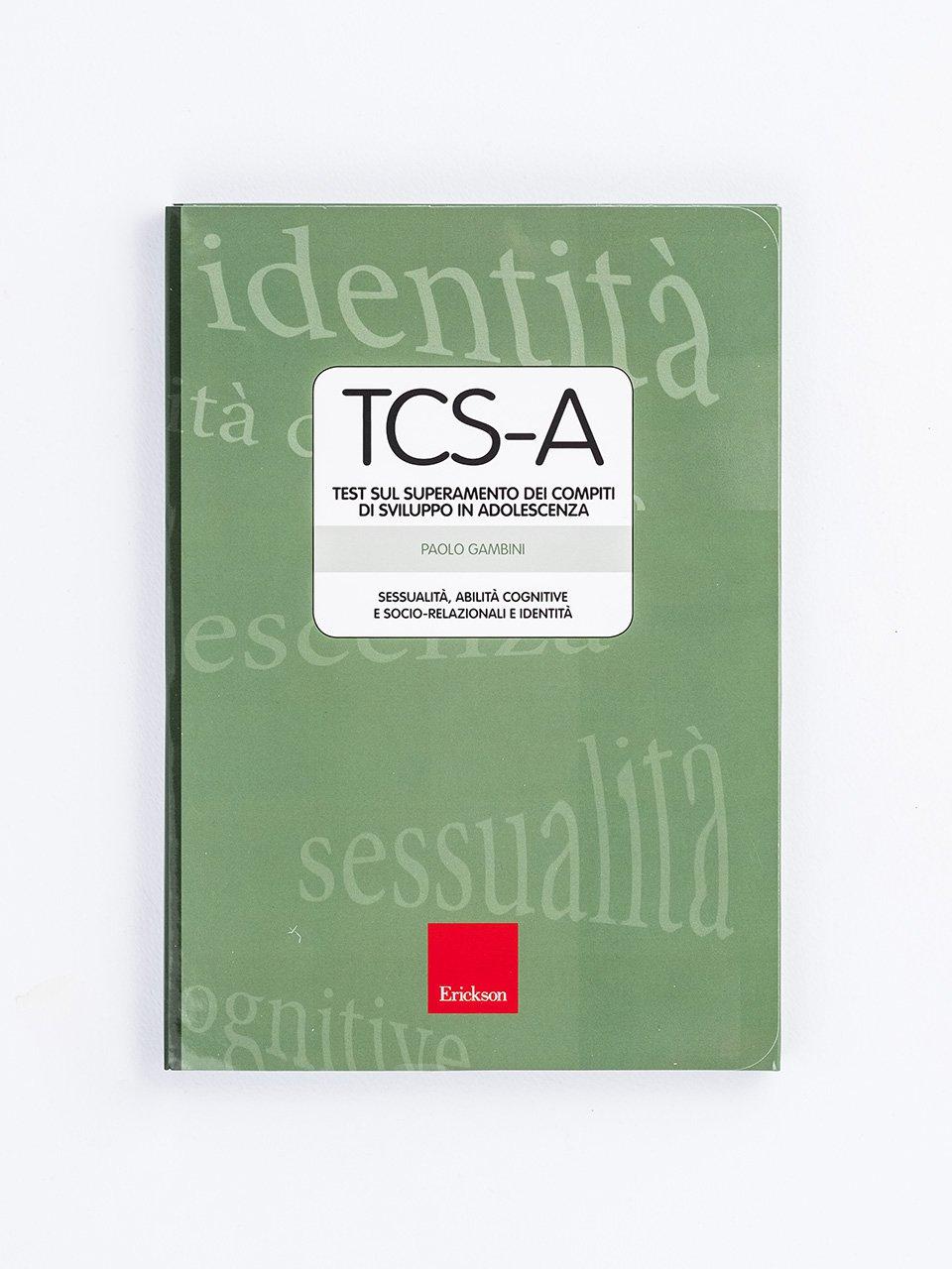 TCS-A – Test sul superamento dei compiti di sviluppo in adolescenza - Stop all'ansia sociale - Libri - Erickson