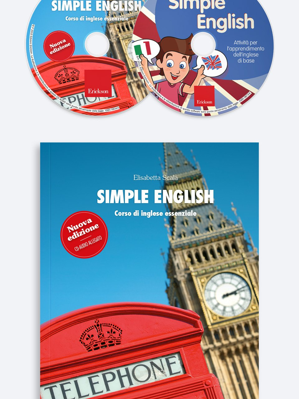 Simple English - Français facile - Libri - App e software - Erickson 3