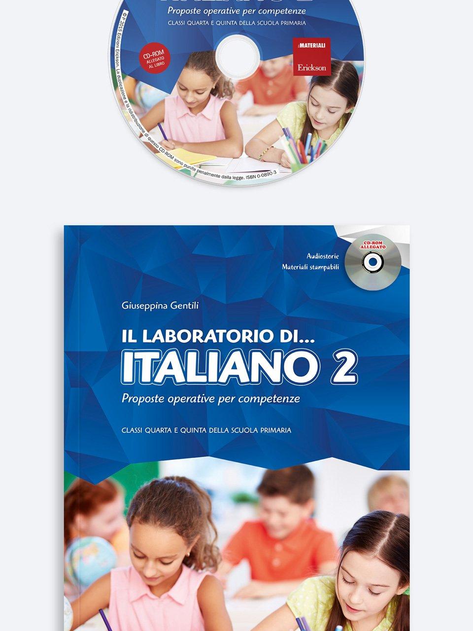 Il laboratorio di... italiano - Volume 2 - didattica laboratoriale - Erickson